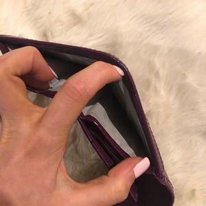 Coach Bags - Purple patent leather coach wallet